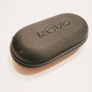 Revo zipped semisoft sunglasses eyeglasses case.